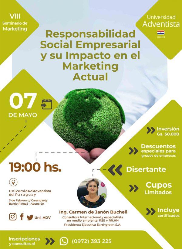 """Se viene el """"VIII Seminario de Marketing"""""""
