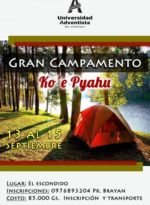 Gran Campamento «Ko'e Pyahu»